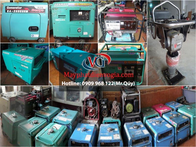 máy phát điện công nghiệp, bán các loại máy phát điện