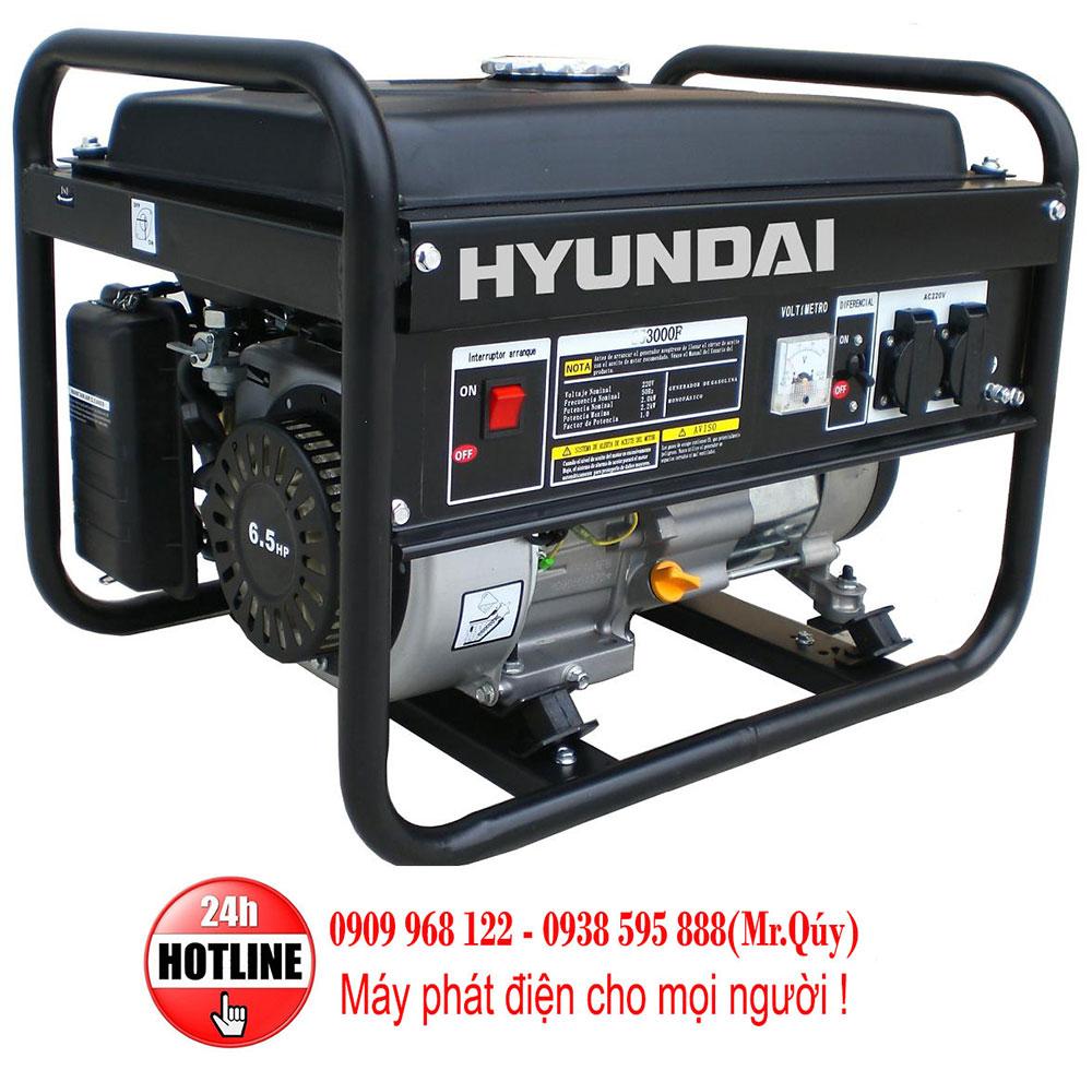 máy phát điện Hyundai, may phat dien Hyundai