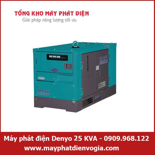 Máy phát điện Denyo 25 KVA, may-phat-dien-Denyo-25-KVA