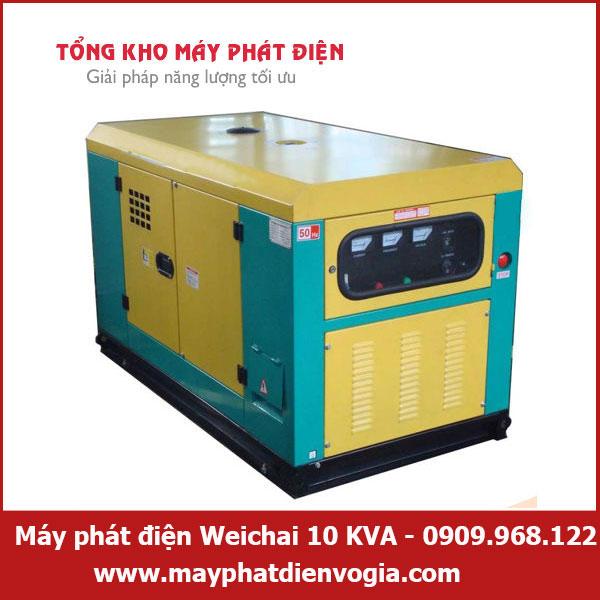 Máy phát điện Weichai 10 KVA, may-phat-dien-Weichai-10-KVA